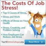 Los costes del estrés en el trabajo #Infografía