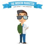 El vendedor moderno, parte artista y parte científico