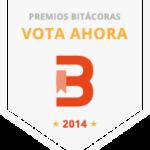 Si crees que mi blog se lo merece … ¡vota! Premios Bitácoras 14