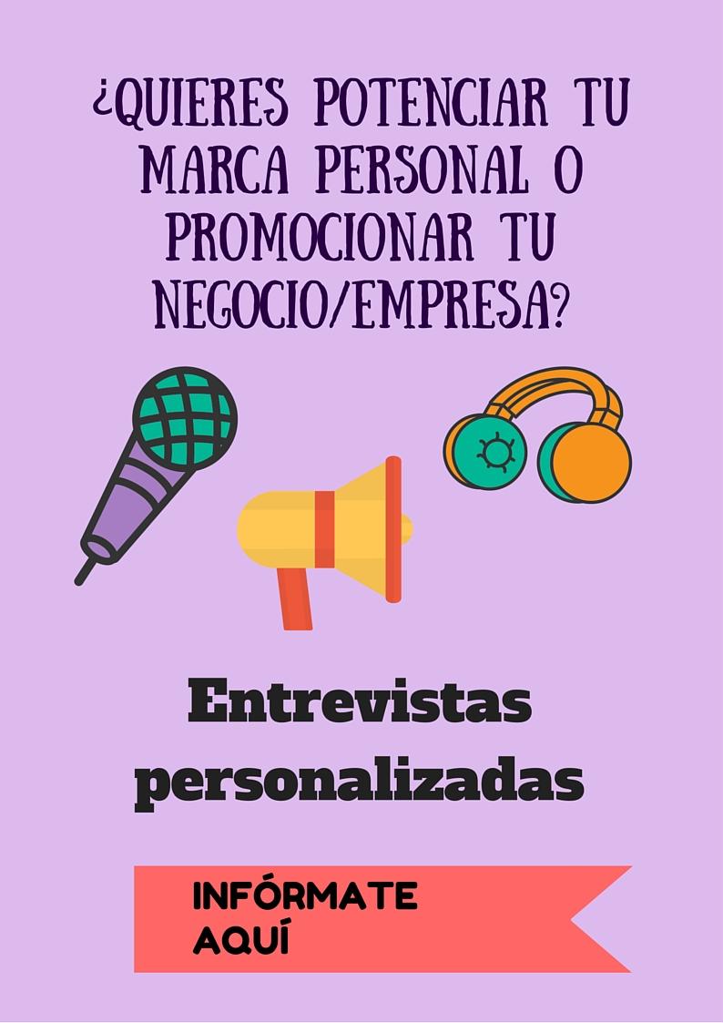 Entrevistas personalizadas blog Anairas
